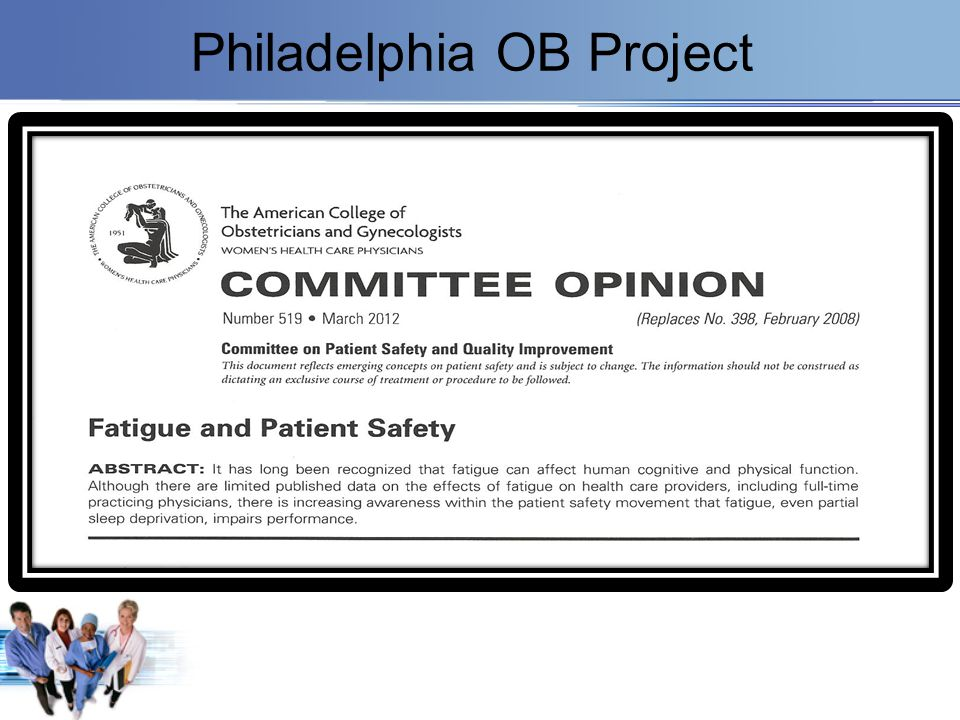 Philadelphia OB Project