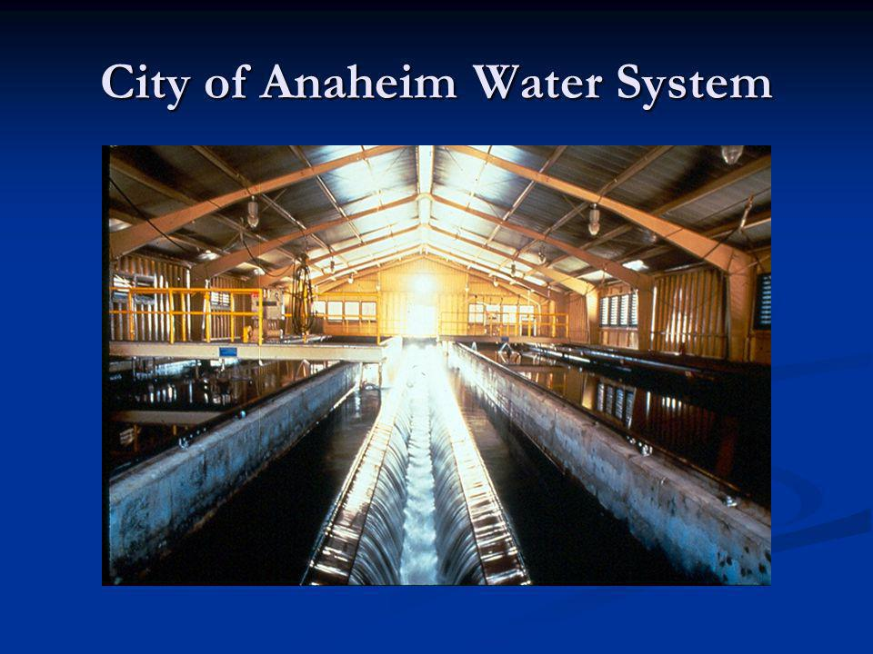 The City of Anaheim Water District was designated as an Orange County Historical Civil Engineering Landmark in 1982 and a bronze plaque was Presented to the Anaheim City Council that year.