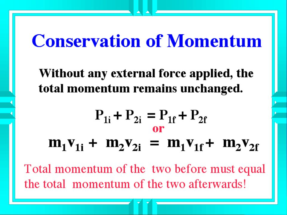 Solution: The momentum of the projectile must equal the momentum of the cannon. They must be equal since they must cancel each other out. p before = p