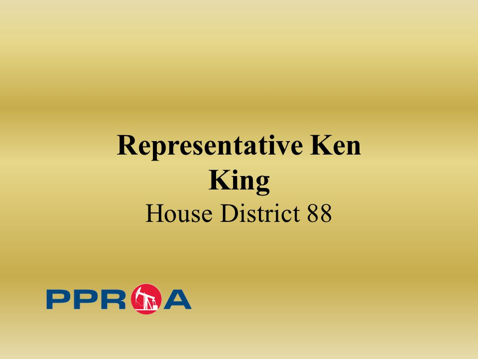 Representative Ken King House District 88