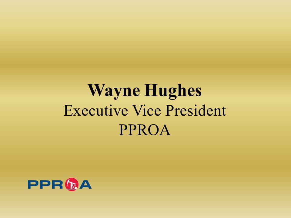Wayne Hughes Executive Vice President PPROA