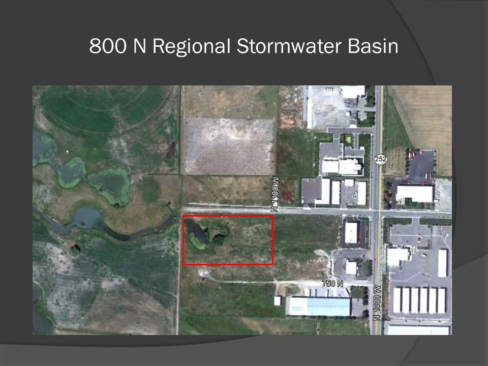 800 N Regional Stormwater Basin