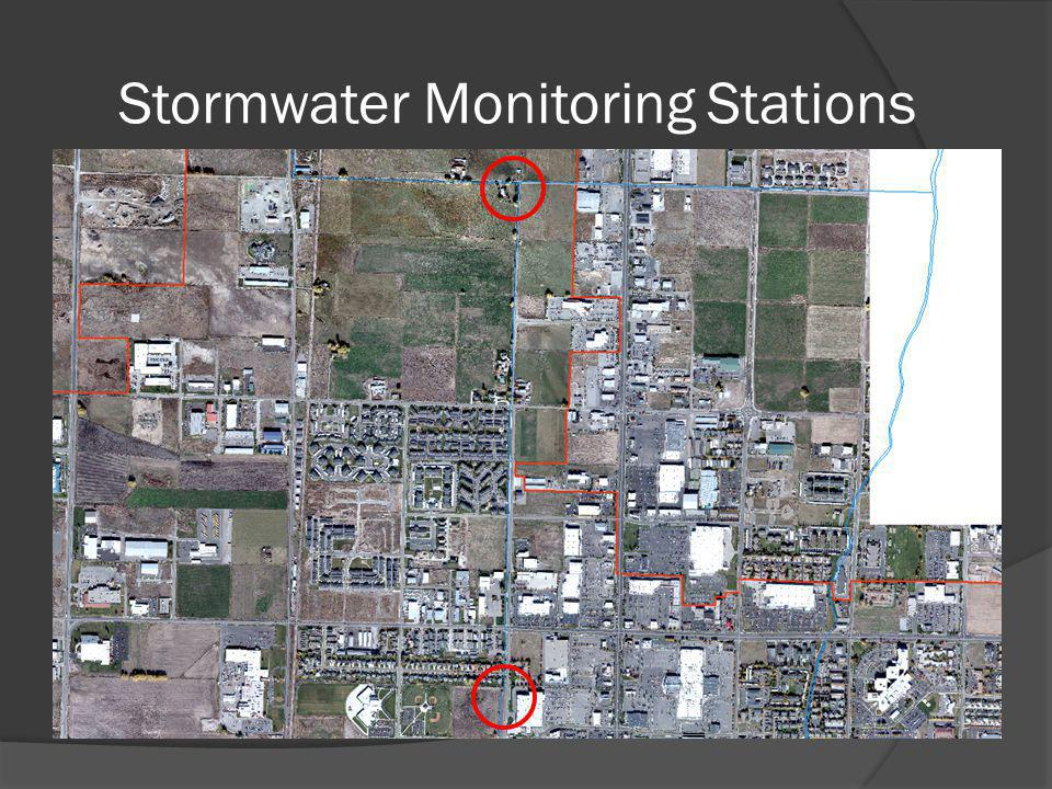 Stormwater Monitoring Stations
