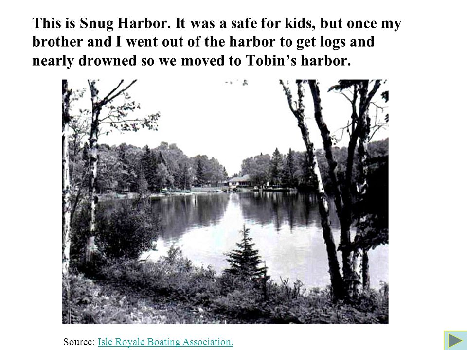 This is Snug Harbor.