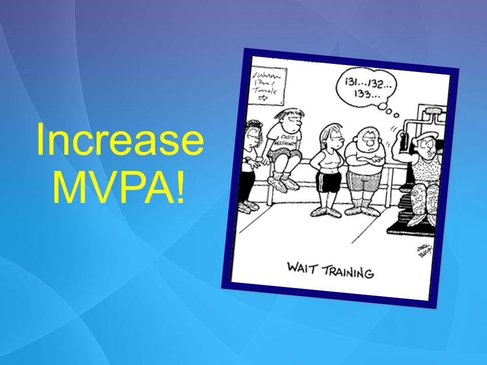 Increase MVPA!