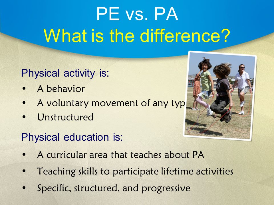 PE vs. PA What is the difference.