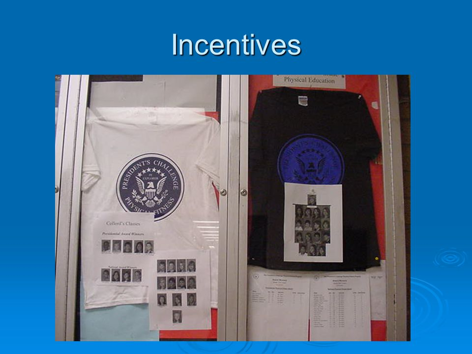 Incentives PresidentialNational