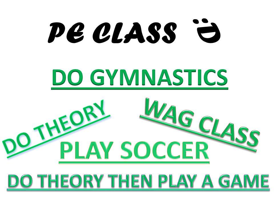 PE CLASS :D