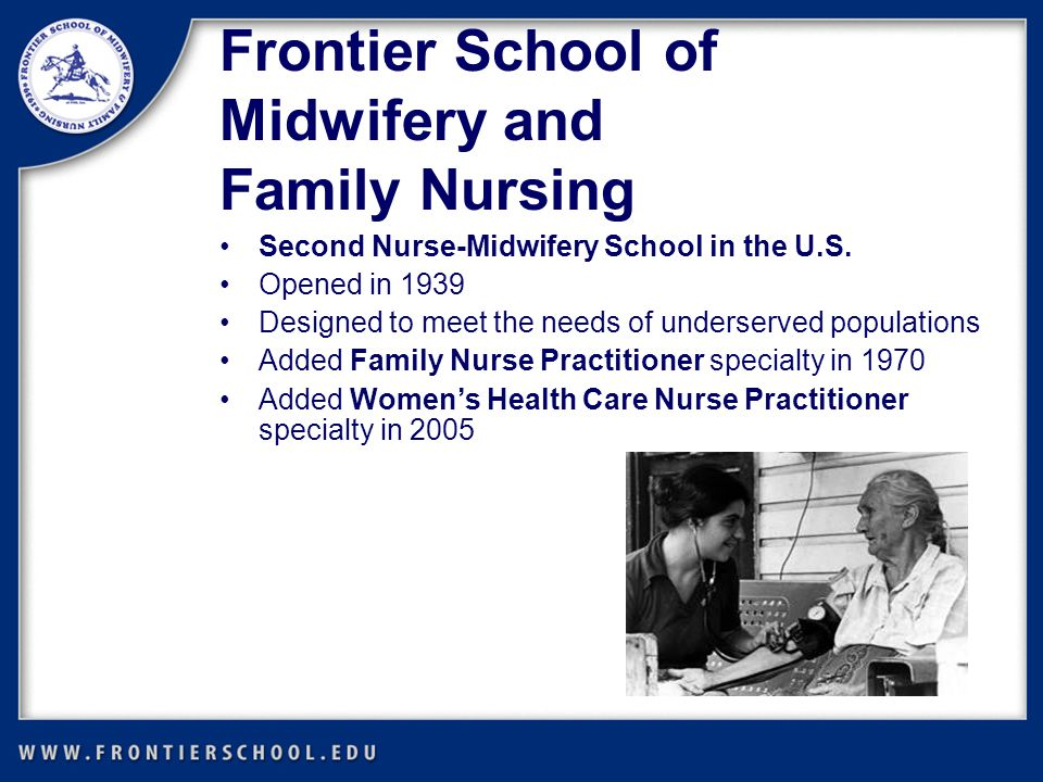 Second Nurse-Midwifery School in the U.S.