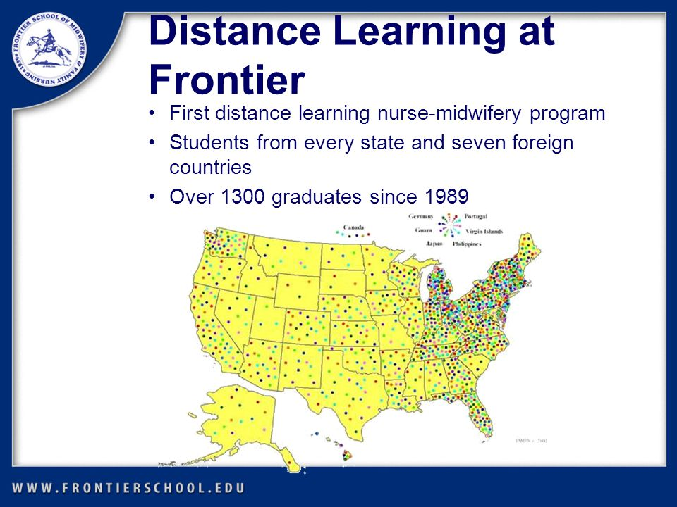 Benefits of Distance Learning Study from the comforts of your home or while you travel Use your community as a classroom Study on your time— anytime.