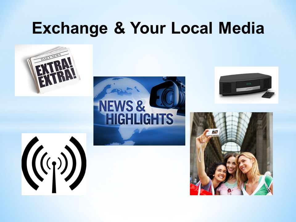 Web Video Award The primary target audience for your Exchange Club's video is your community.