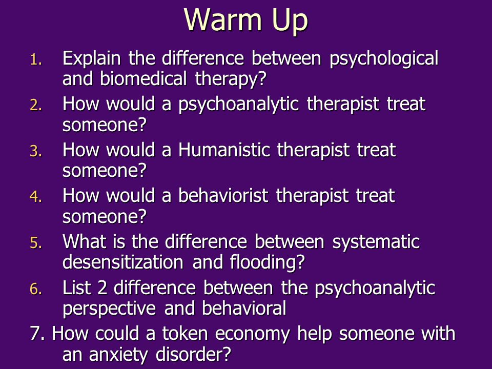 Nearly all Psychotherapies can be Conducted as Group Therapies Less costly and time consuming therapy is often effective b/c it helps people see that they are not alone in their problem.