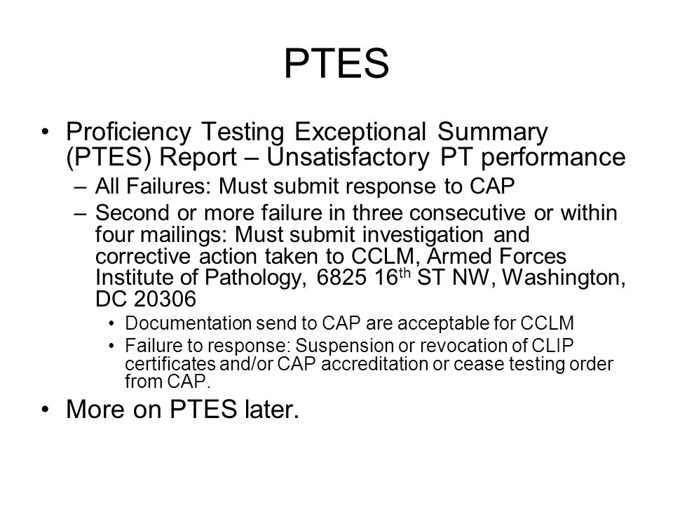 CAP ACCREDITATION (LAP) CAP accreditation is centrally funded by CCLM through CAP contract –No command expenses except for the Coffee and Donut Accreditation other than CAP and want to switch to CAP: –Notify CCLM respective Program Manager at least 9 months prior to expiration of current accreditation.