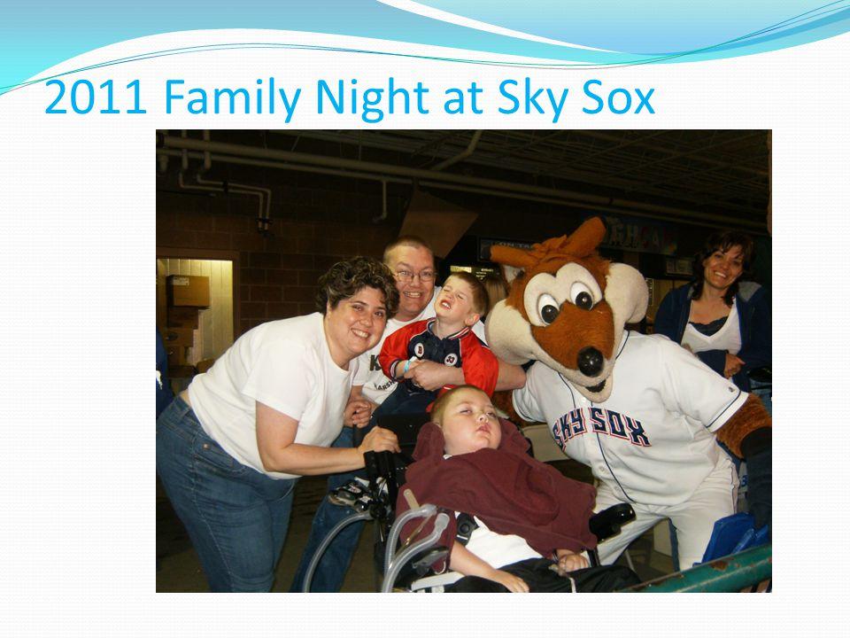 2011 Family Night at Sky Sox