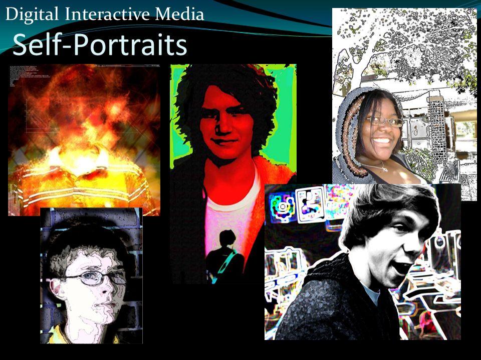 Self-Portraits Digital Interactive Media