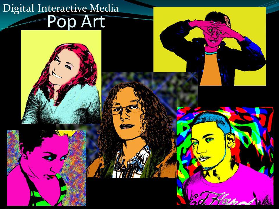 Pop Art Digital Interactive Media