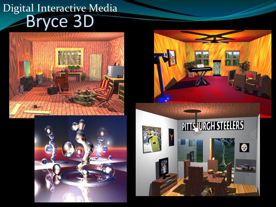 Bryce 3D Digital Interactive Media