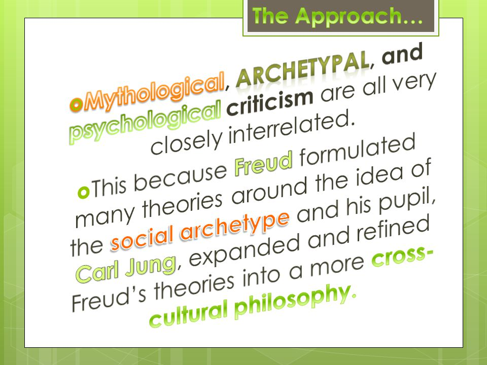 Archetypal Images:
