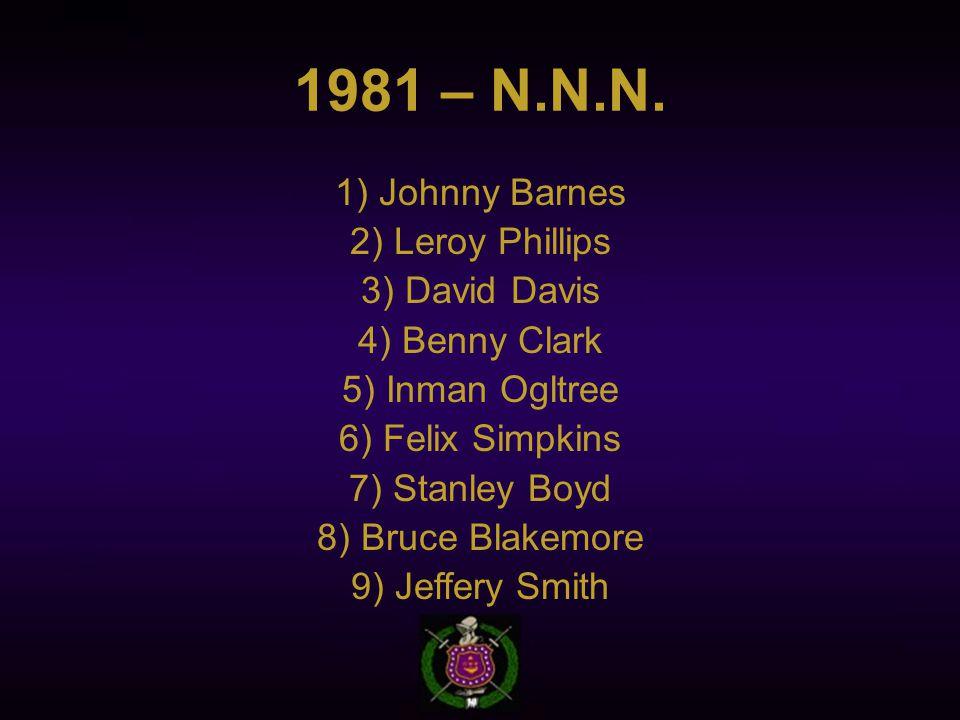 1981 – N.N.N.