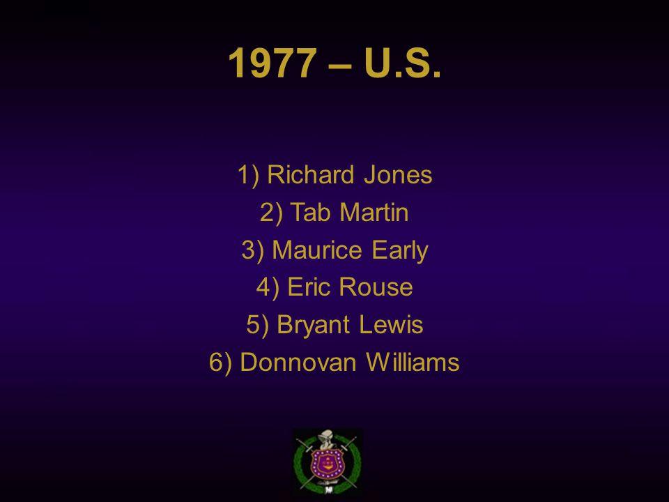 1977 – U.S.