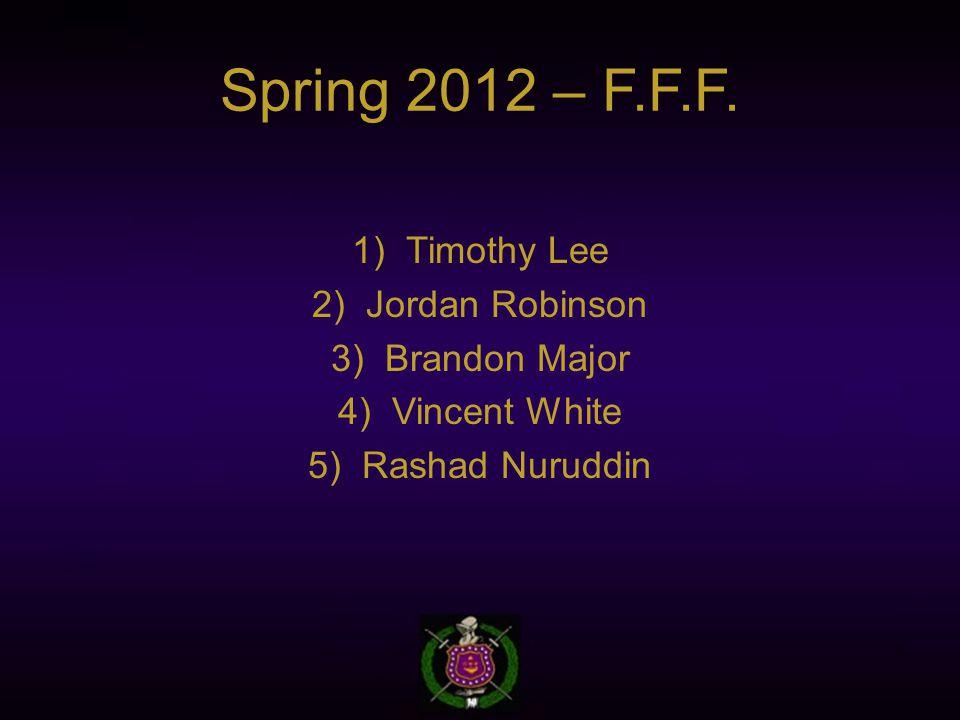 Spring 2012 – F.F.F.