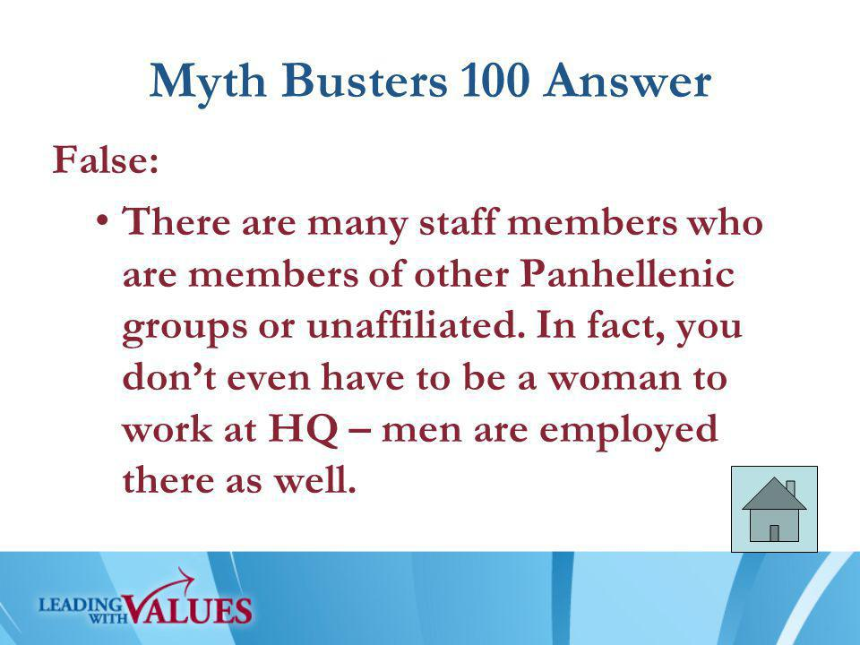 Myth Busters 200 Answer False: Members of Grand Council are volunteers, just like your AAC and Regional Team.