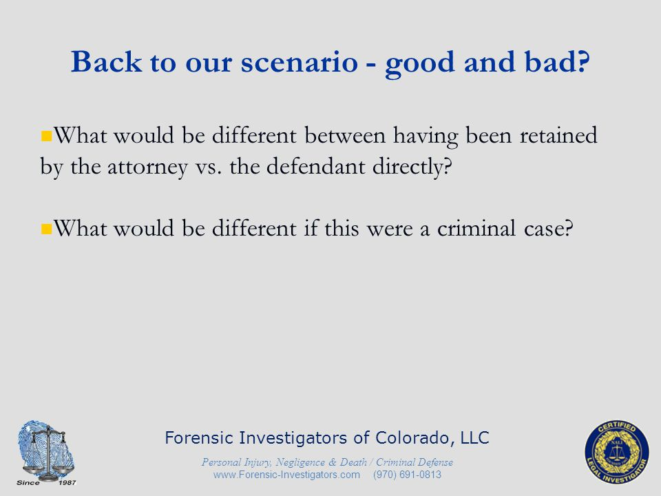 In Conclusion Know your client, your case and the Rules of Professional Conduct, as well as association ethics rules.