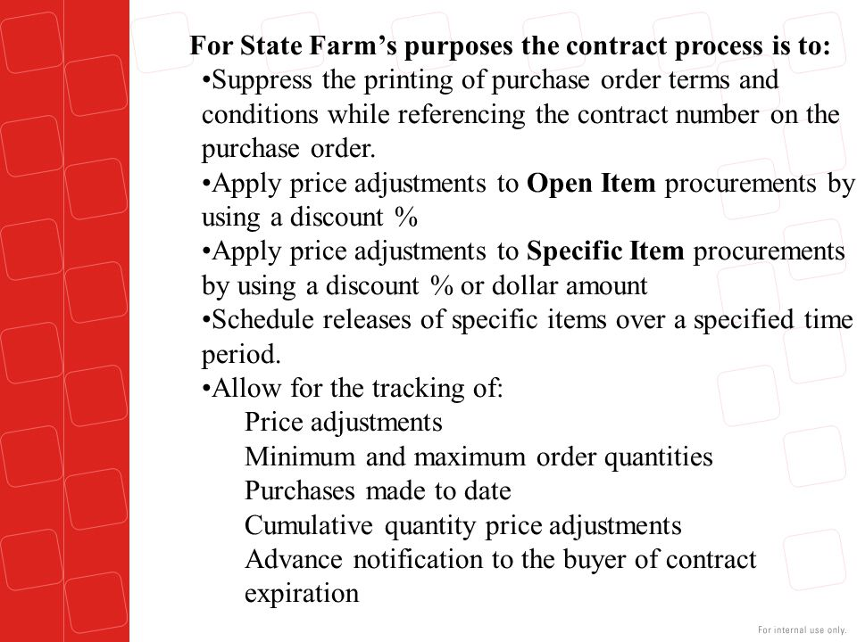 Open Item Contract Adding a contract