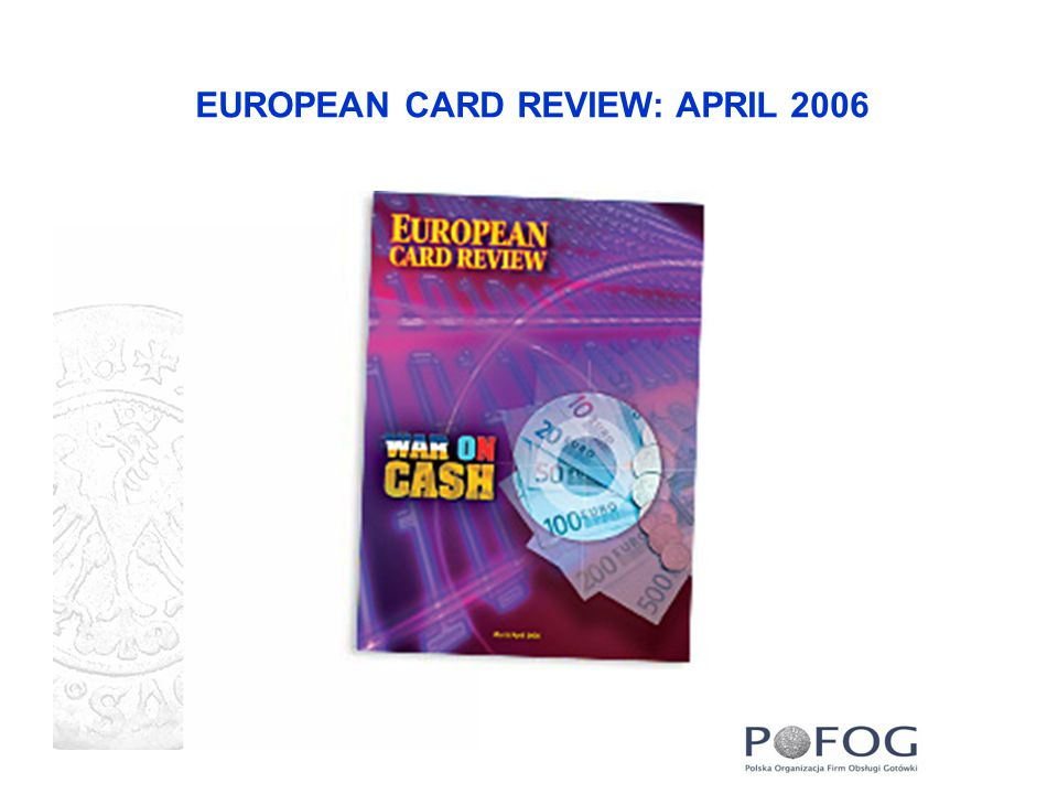 EUROPEAN CARD REVIEW: APRIL 2006