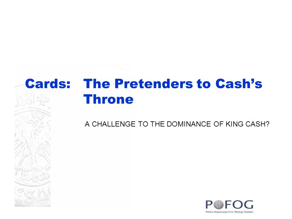 Cards: The Pretenders to Cash's Throne A CHALLENGE TO THE DOMINANCE OF KING CASH