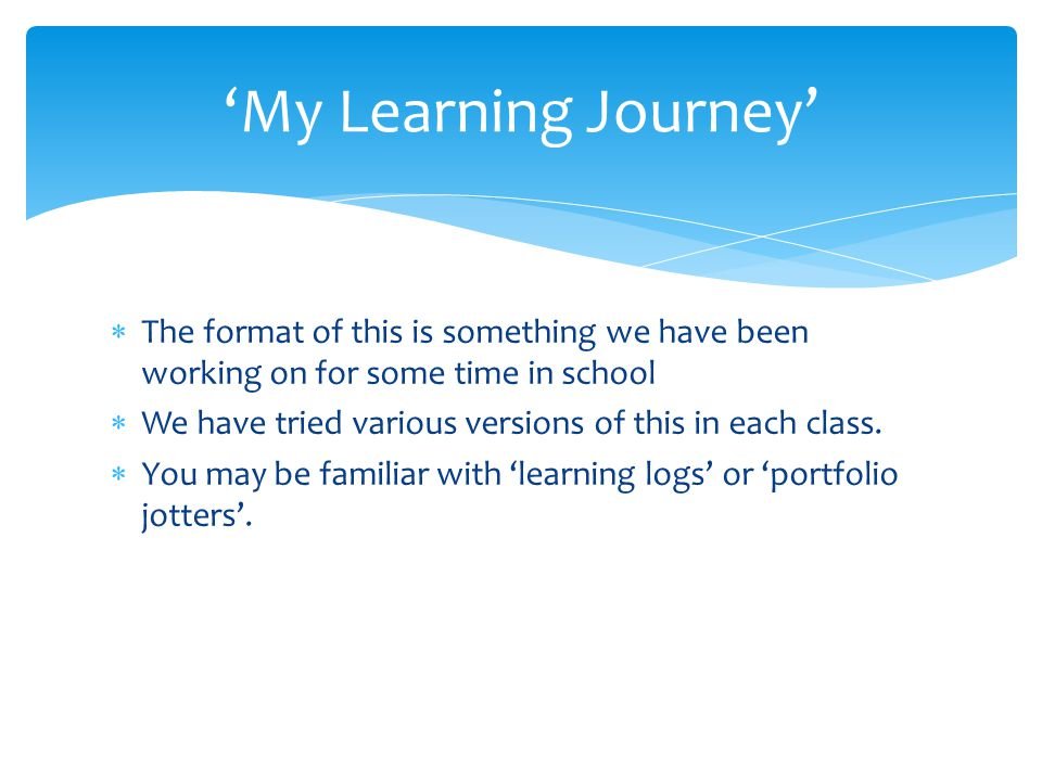  The format of this is something we have been working on for some time in school  We have tried various versions of this in each class.