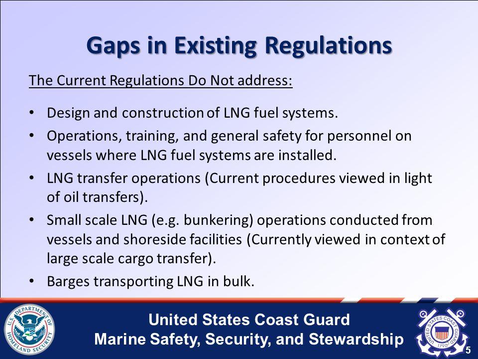 United States Coast Guard Marine Safety, Security, and Stewardship 6 U.S.