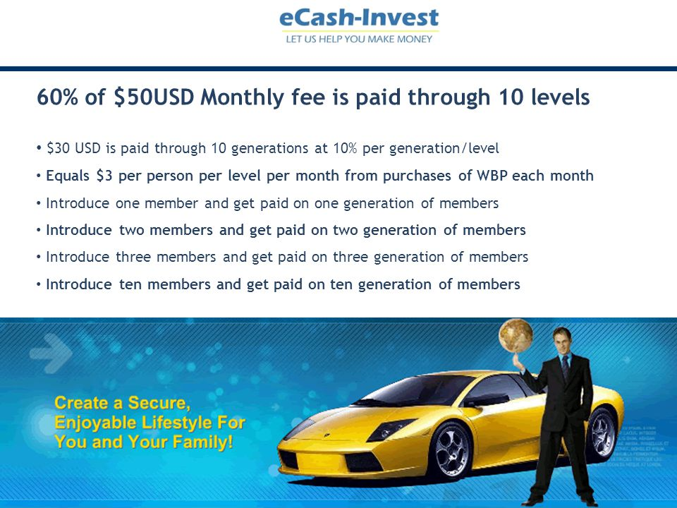 Earn cash & travel rewards in Travel Rewards Program You must become a Clubfreedom member to access the eCash-Invest opportunity As member of Clubfreedom you can earn travel and cash rewards This can provide additional rewards as you build your ECash-Invest business You have the option of investing your Clubfreedom Cash Rewards with ECash-Invest