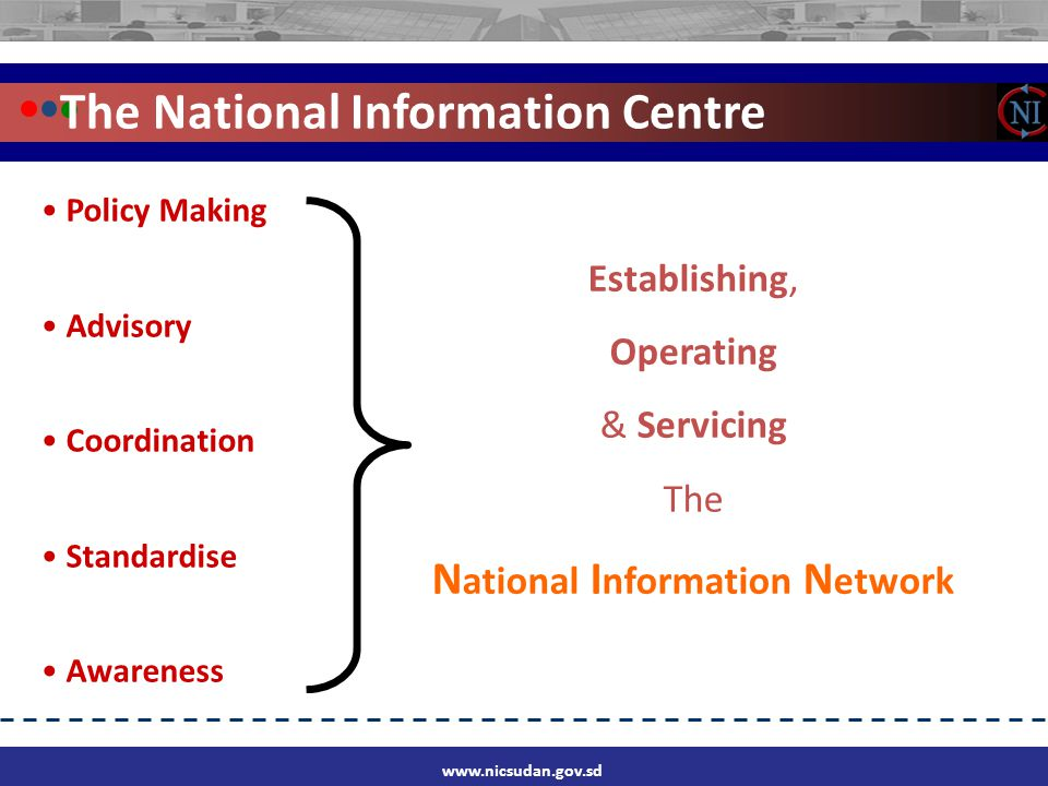 The National Information Centre w w w. b s i l.