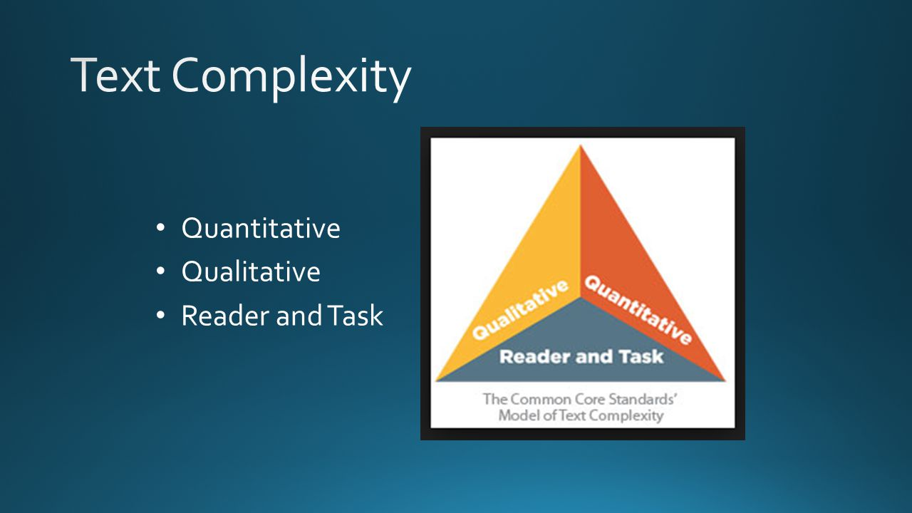 Quantitative Qualitative Reader and Task