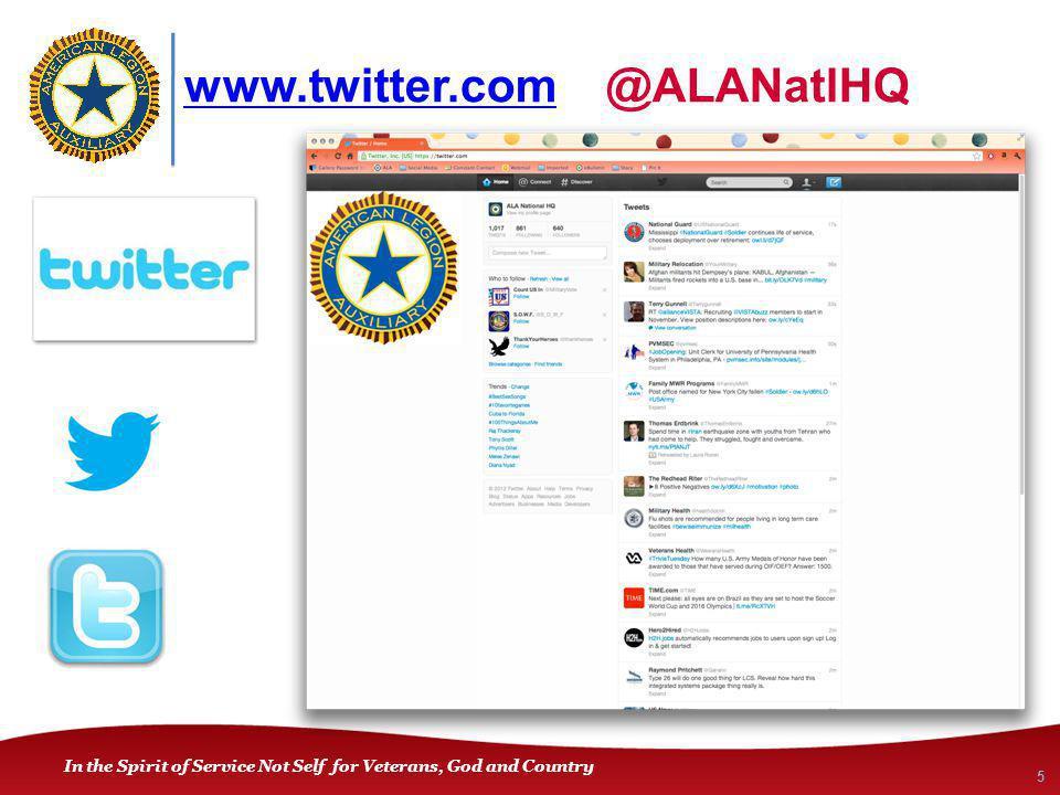 www.twitter.comwww.twitter.com @ALANatlHQ 5