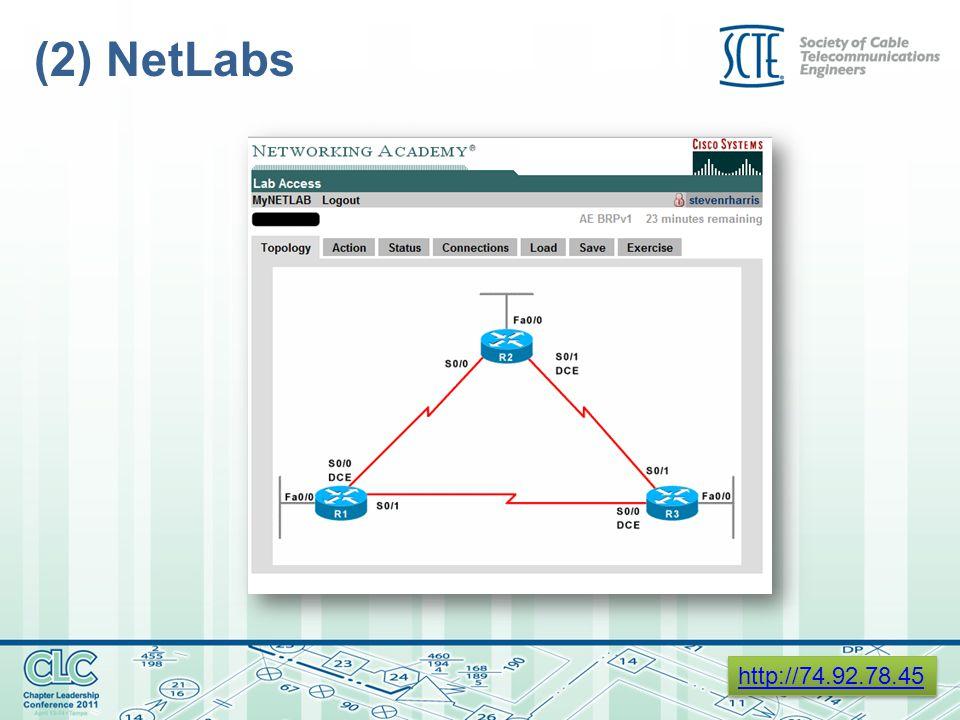 (2) NetLabs http://74.92.78.45