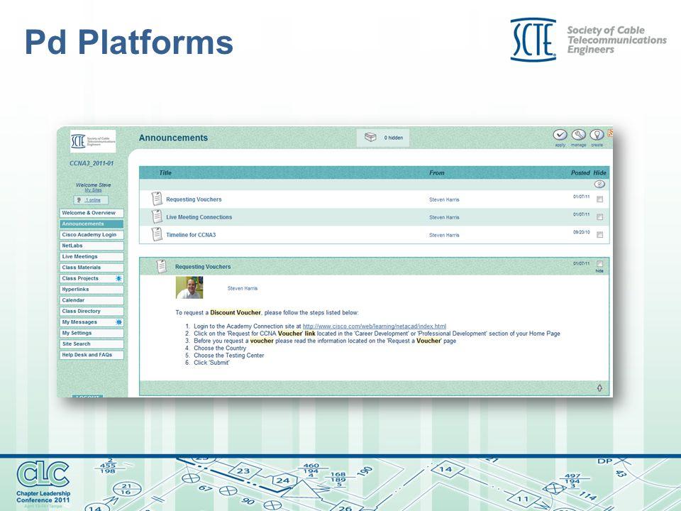 Pd Platforms