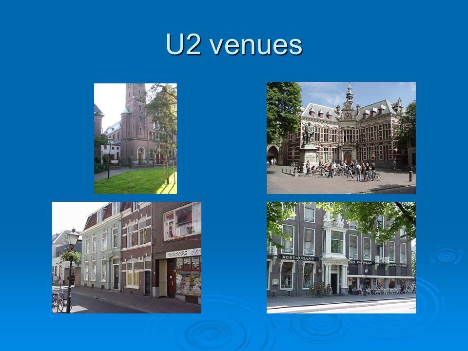 U2 venues