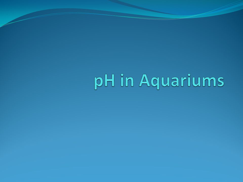 Adding acids and bases can change the pH of your aquarium, but this can be dangerous.