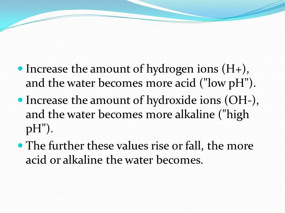Acids pH = 0Battery Acid, Hydrofluoric Acid pH = 1Hydrochloric acid in the stomach pH = 2Lemon Juice, Vinegar pH = 3Grape fruit, orange juice, Soda pH = 4Acid rain, tomato Juice pH = 5Soft drinking water, black coffee pH = 6Urine, saliva pH = 7Pure water