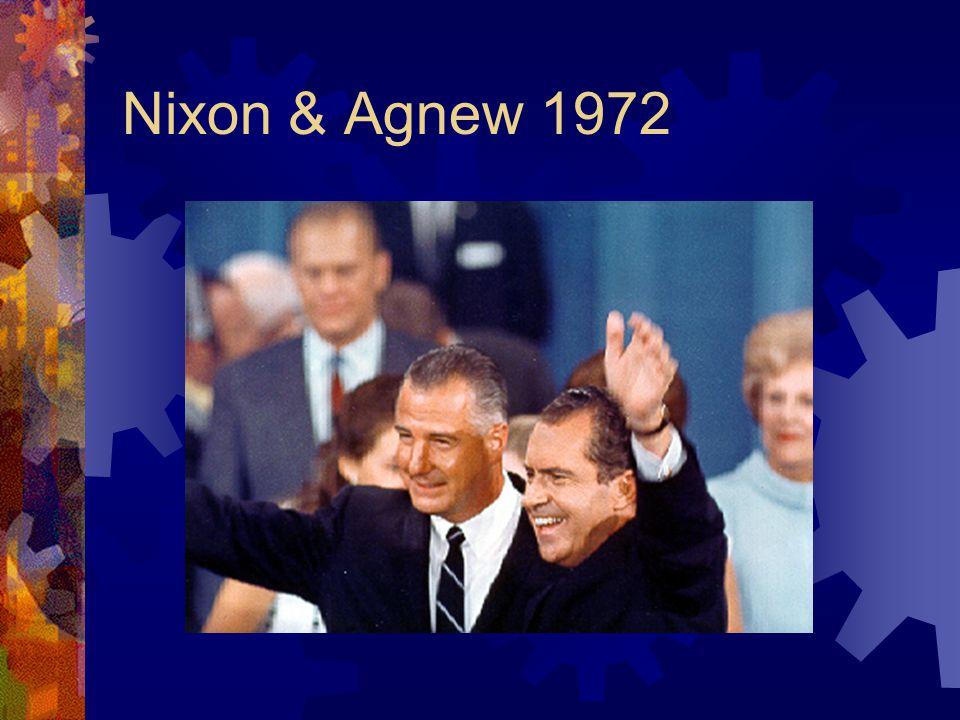 Nixon & Agnew 1972