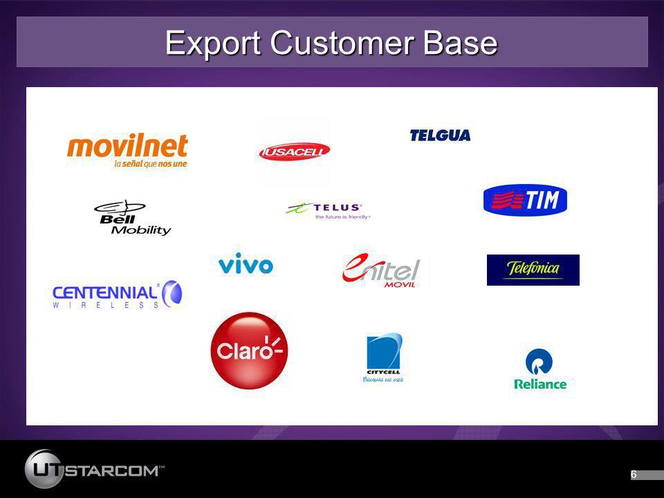 66 Export Customer Base