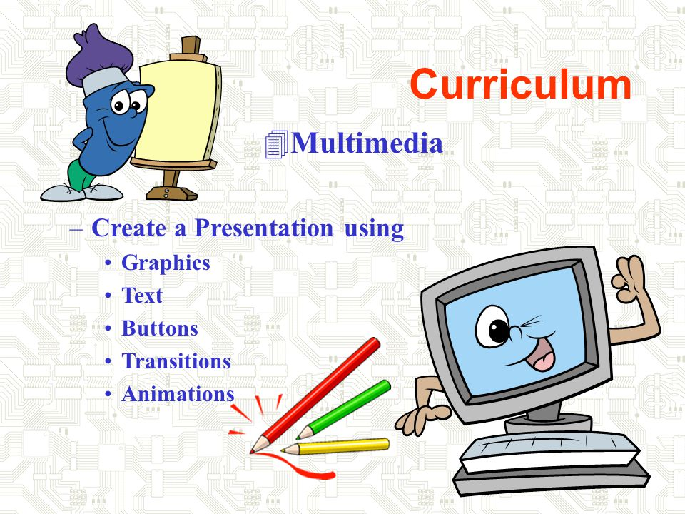 Curriculum 4Internet Use –Searching the Internet –Selecting Information –Downloading –Ethics in using Internet