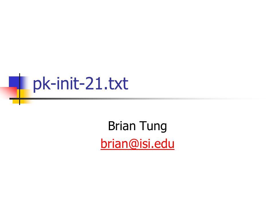 pk-init-21.txt Brian Tung brian@isi.edu