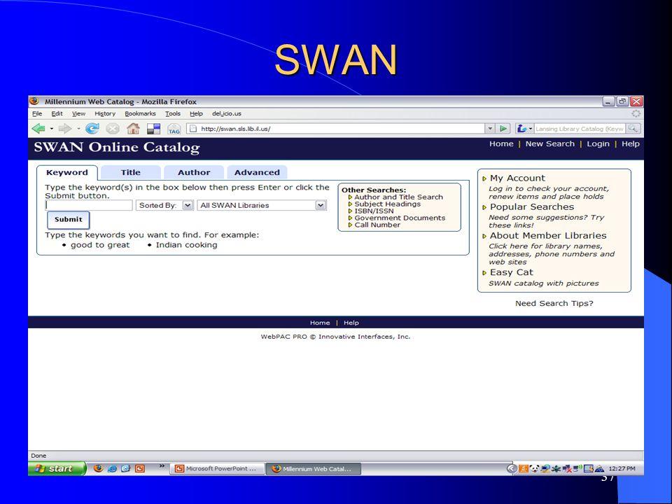 37 SWAN