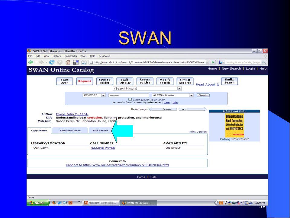 39 SWAN