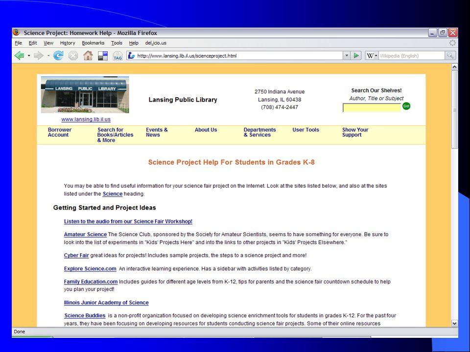 47 Lansing Library Website