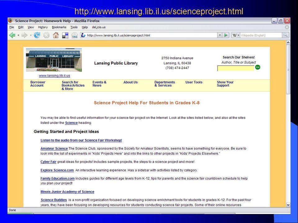 8http://school.discovery.com/sciencefaircentral/scifairstudio/ideas.html