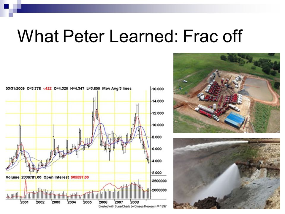 What Peter Learned: Frac off